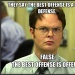 dwight schrute  facts